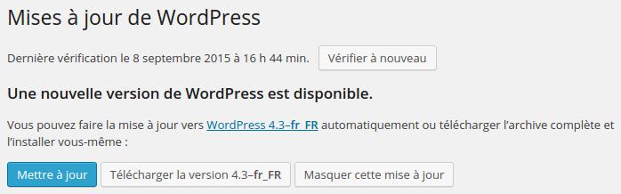 Pourquoi mettre à jour WordPress ?