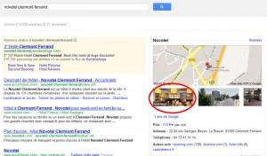 Affichage de Street View dans les résultats de recherche Google
