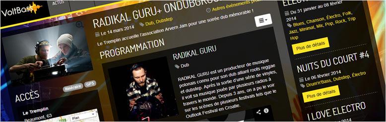 VoltBass : actualité musicale dans le Puy-de-Dôme et l'Auvergne