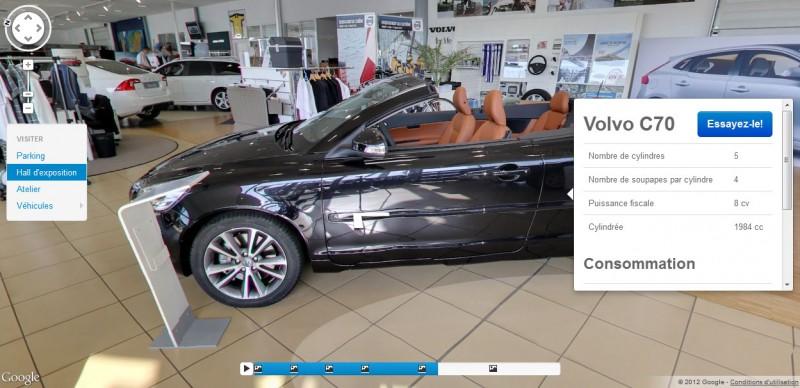 Ajout de fonctionnalités à Street View via l'utilisation de widgets.
